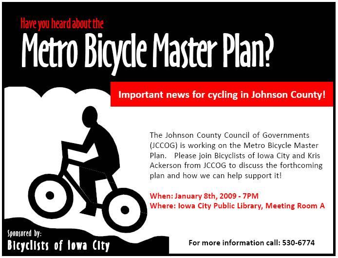 Another Metro Bicycle Master Plan Meeting The Broken Spoke