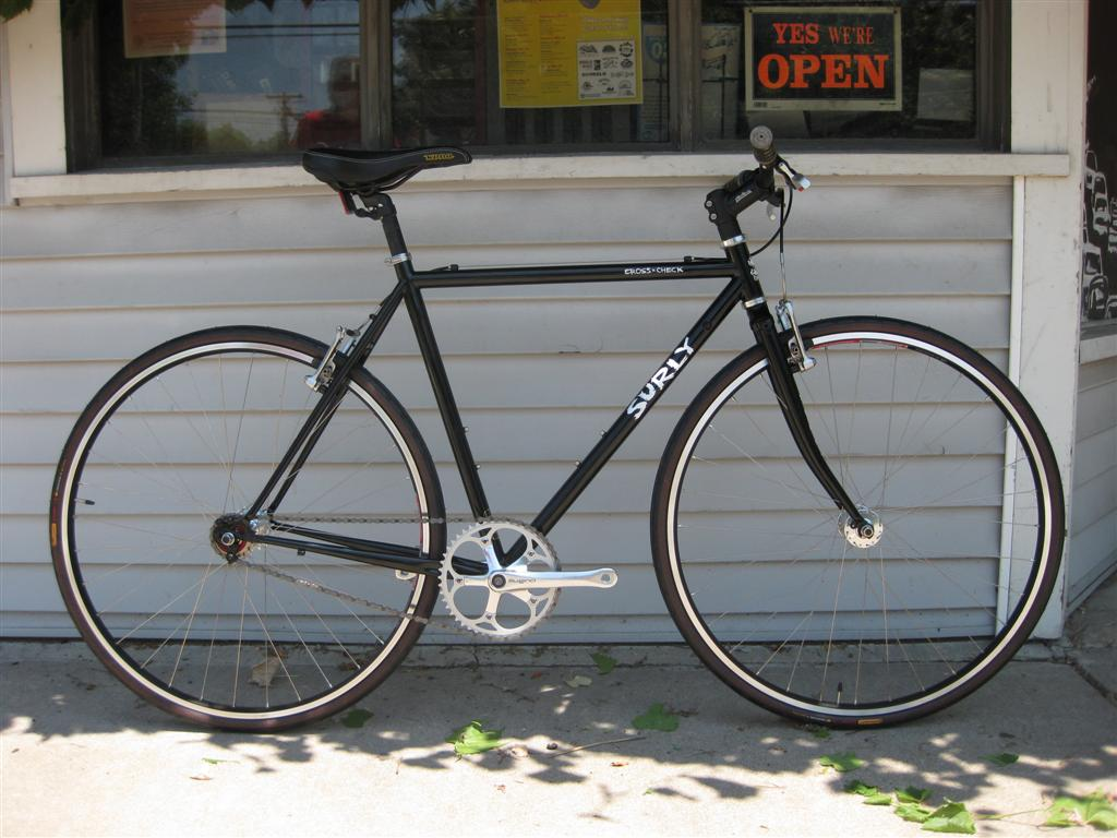 Surly Cross Check Fixed Gear Single Speed X2 The Broken Spoke